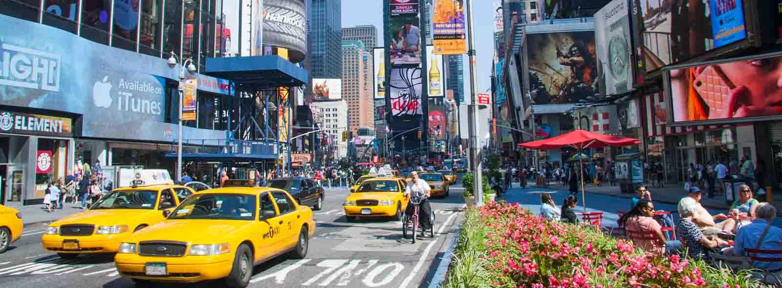 zomer op times square